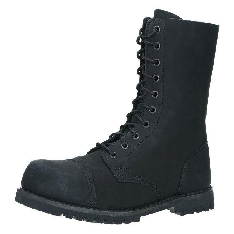 Chaussures Brandit Phantom Boots 10 Eyelet Noir noir 47 CjiXfv