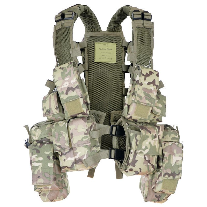 mfh tactical  MFH Tactical Vest Operation Camo