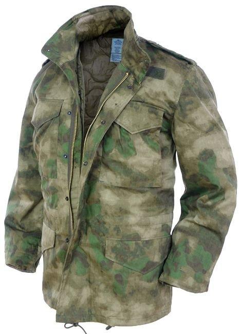 MIL-TEC MENS URBAN PARKA COMBAT M65 ARMY JACKET TACTICAL HUNTING COAT DARK CAMO