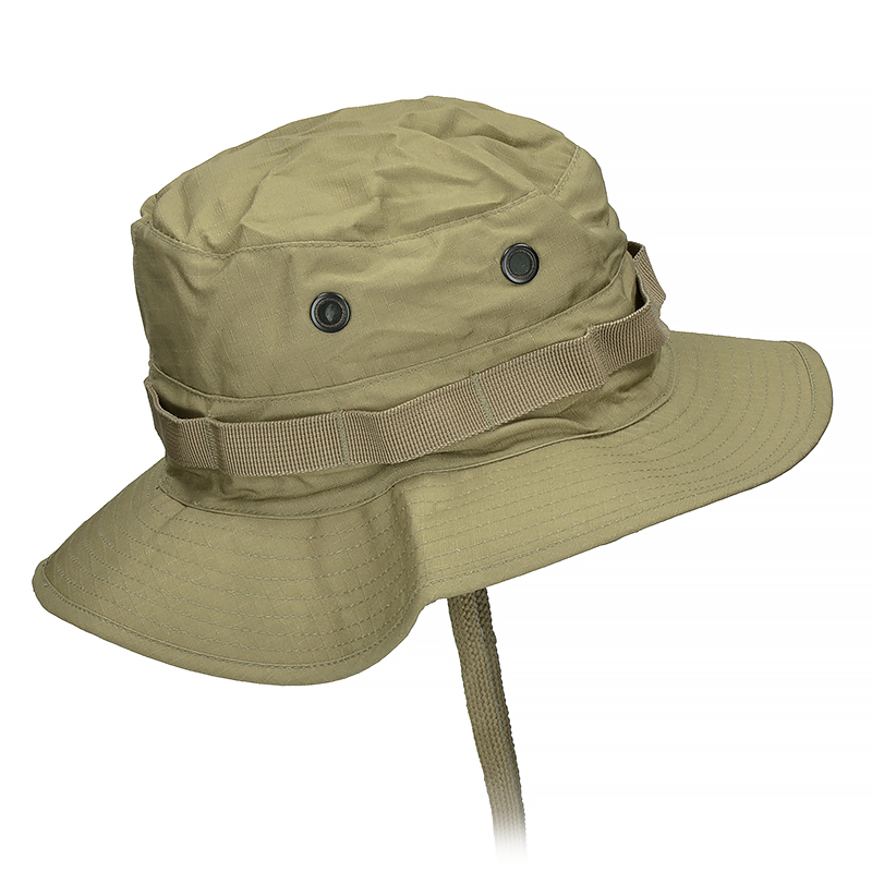 ... Mil-Tec British Boonie Hat with Neck Flap Rip-Stop Coyote ... c22ad2e1447