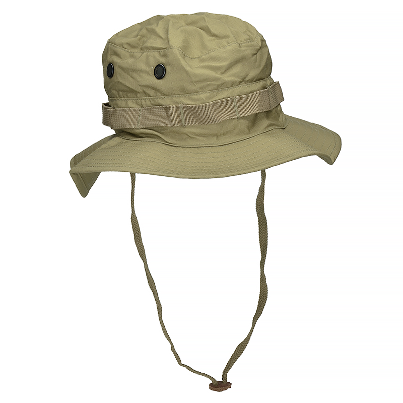 ... Mil-Tec British Boonie Hat with Neck Flap Rip-Stop Coyote 9f8f1dcaccf