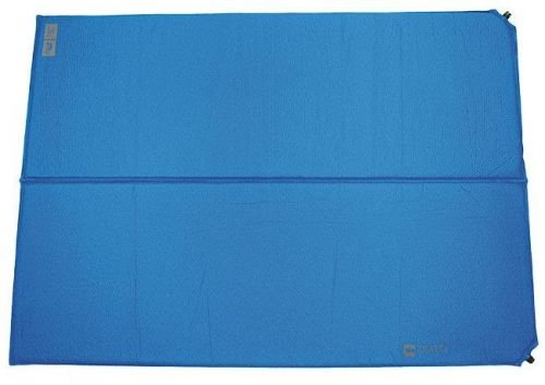 Highlander Self-inflating Foam Pad Base 2 persons Blue (DBL)