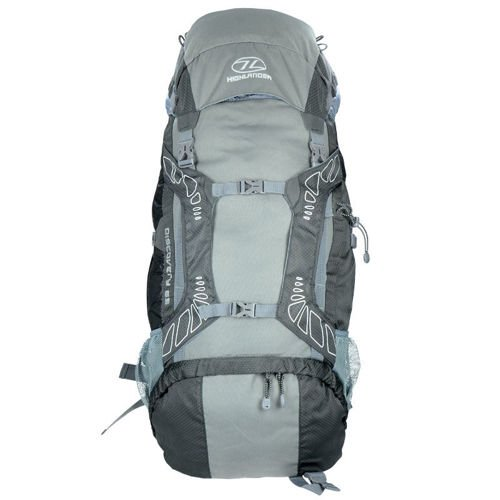 Highlander Tourist Backpack 65L Discovery  Gray