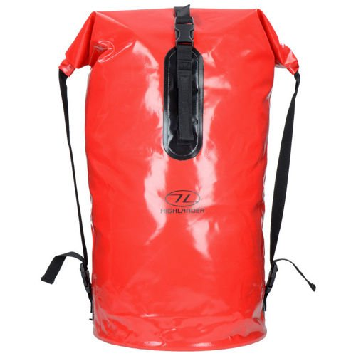 Highlander Transport Watertight Backpack 70L Red