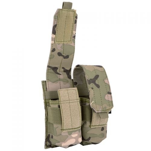 MFH Double Ammo Mag Pouch Operation Camo