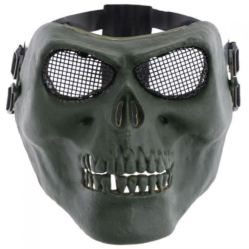 MFH Skull 3/4 Face Protective Mask Olive