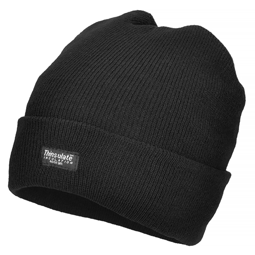 MFH Thinsulate Winter Cap Black