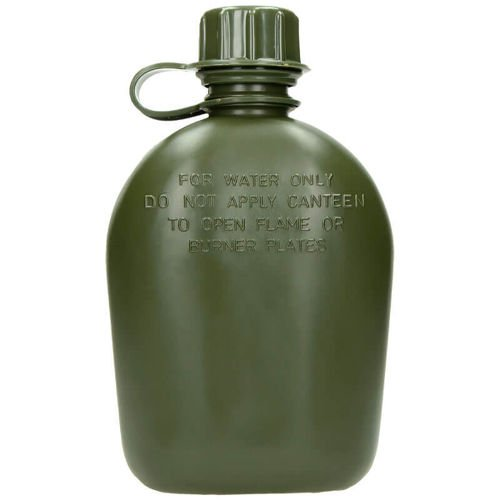 MFH US Bottle 1L Olive