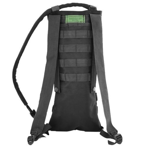 MFH 2.5L Hydration Pack MOLLE Black