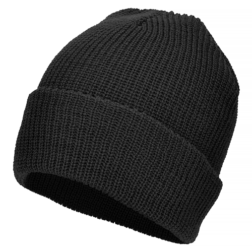 Mil-Tec US Woolen Winter Hat Black