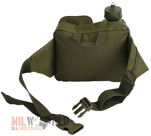 Mil-Tec Fanny Pack with Bottle Olive