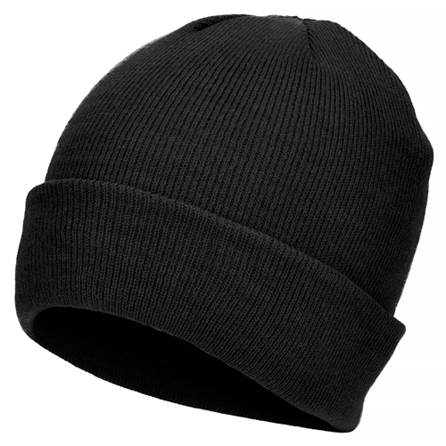 Mil-Tec Fine Knitwear Winter Watch Cap Black
