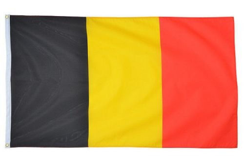 Mil-Tec Flag of Belgium 90x150cm (5ft x 3ft)