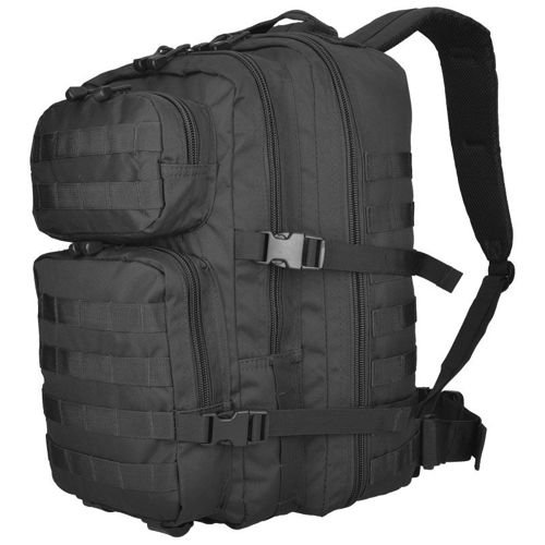 Mil-Tec MOLLE Tactical Backpack US Assault Large Black