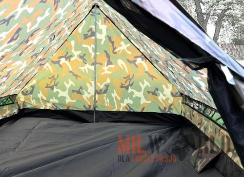 Mil-Tec Mini Pack Standard Tent for 2 People Woodland