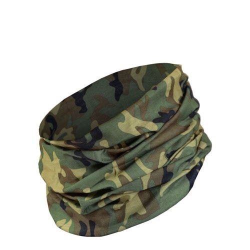 Mil-Tec Multifunctional Headgear Scarf Woodland