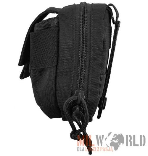 Mil-Tec Padded Belt Pouch MOLLE Black