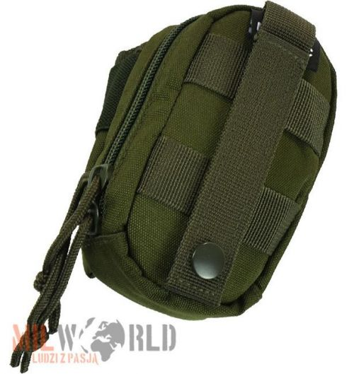 Mil-Tec Padded Belt Pouch MOLLE Olive