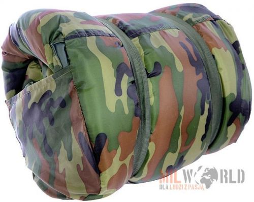Mil-Tec Pilot Military Sleeping Bag Woodland
