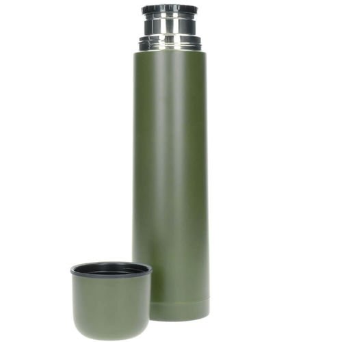 Mil-Tec Thermo Bottle 1L Olive