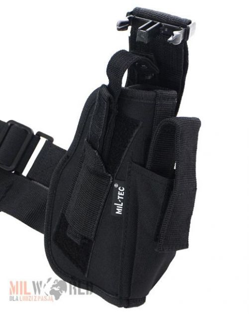 Mil-Tec Thigh Holster Right Black