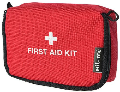 Mil-Tec Tourist First Aid Kit Small Red