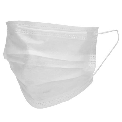 Protective Face Mask 10 pieces White