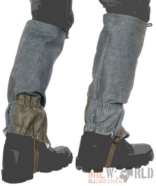 Surplus Gaiters of the Swiss Army